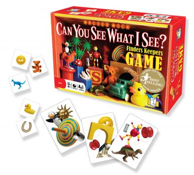 Can You See What I See? Finders Keepers Game by Gamewright