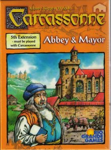 Carcassonne: Abbey & Mayor Expansion by Rio Grande Games