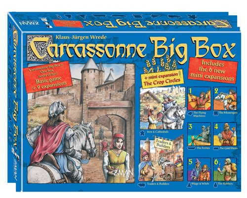 Carcassonne Big Box by Z-Man Games