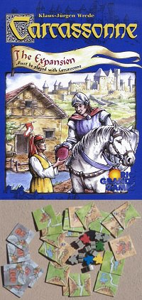 Carcassonne: Inns & Cathedrals Expansion by Rio Grande Games