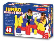 40 pc Basic Cardboard Blocks Jumbo by Melissa and Doug