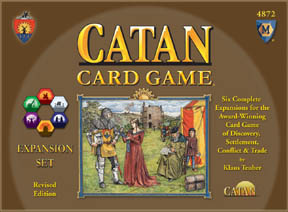 Settlers of Catan Card Game Expansion by Mayfair Games