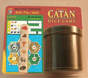 Catan: Deluxe Dice Game by Mayfair Games