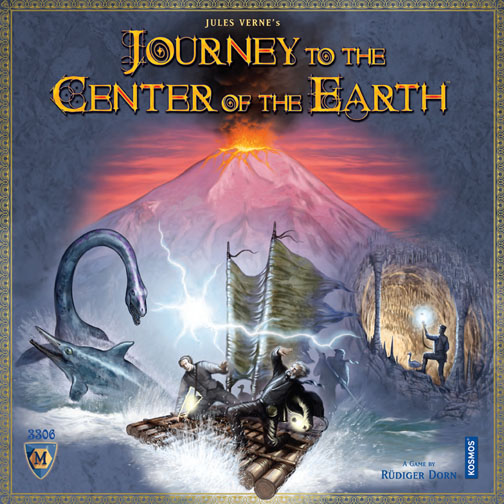 Journey to the Center of the Earth Board Game by Mayfair Games
