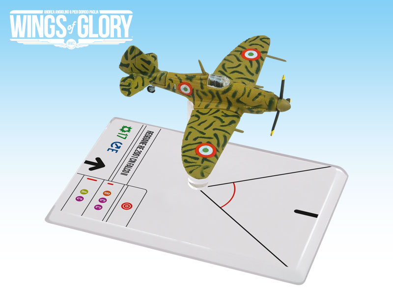 Wings of Glory WW2 : Reggiane Re.2001 Falco Ii (Cerretani) by Ares Games Srl