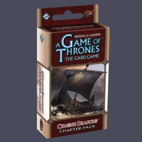 A Game Of Thrones LCG: Chasing Dragons Chapter Pack by Fantasy Flight Games