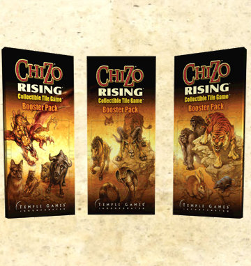 ChiZo RISING - Booster pack by Temple Games