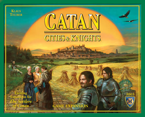 Settlers Of Catan Board Game : Cities & Knights by Mayfair Games