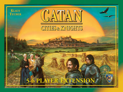 Settlers Of Catan Board Game : Cities & Knights 5-6 Player Extension by Mayfair Games