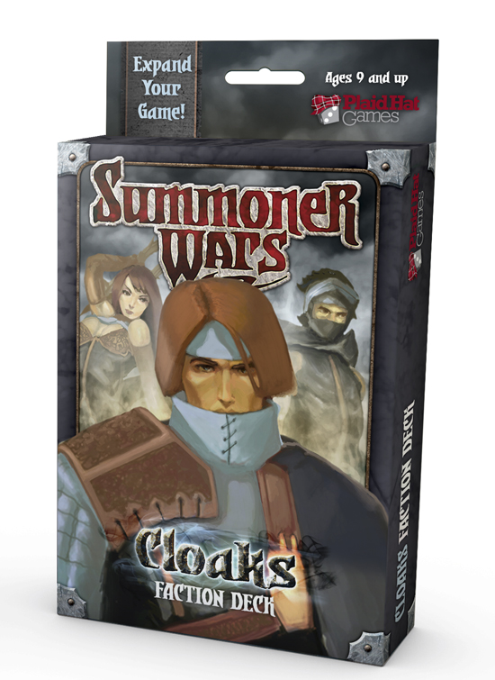 Summoner Wars: Cloaks Faction Deck by Plaid Hat Games