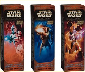 Star Wars Miniatures Game - Clone Strike Booster Pack by TSR Inc.