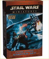 Star Wars Miniatures Game - Clone Strike Starter Set by TSR Inc.