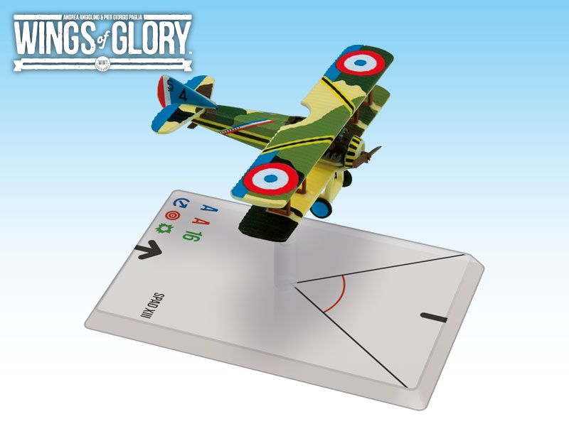 Wings of Glory: WWI: SPAD XIII (Coadou) by Ares Games