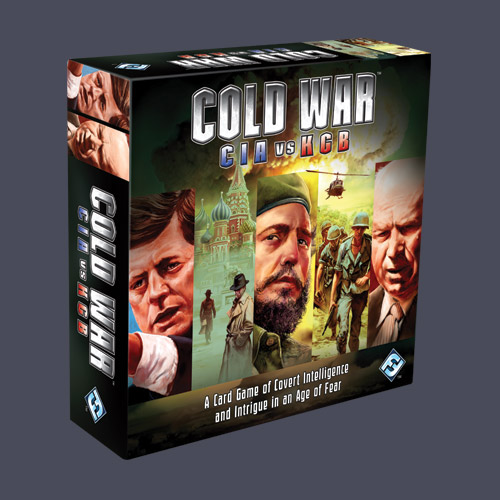 Cold War: CIA Vs KGB (revised) by Fantasy Flight