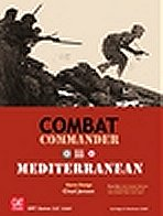 Combat Commander: Europe - Mediterranean Components by GMT Games