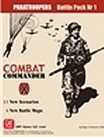 Combat Commander: Europe - Paratroopers Battle Pack 1 by GMT Games