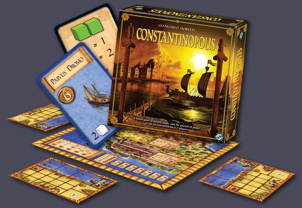 Constantinopolis by Fantasy Flight Games