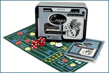 Craps - Casino Series Tin by Front Porch Classics