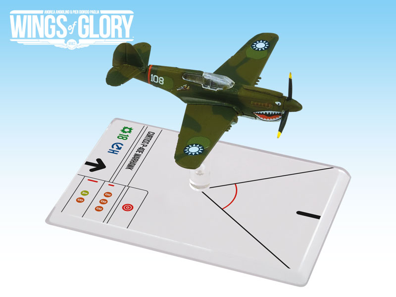 Wings of Glory WW2 : Curtiss P-40E Warhawk (Hill) by Ares Games Srl