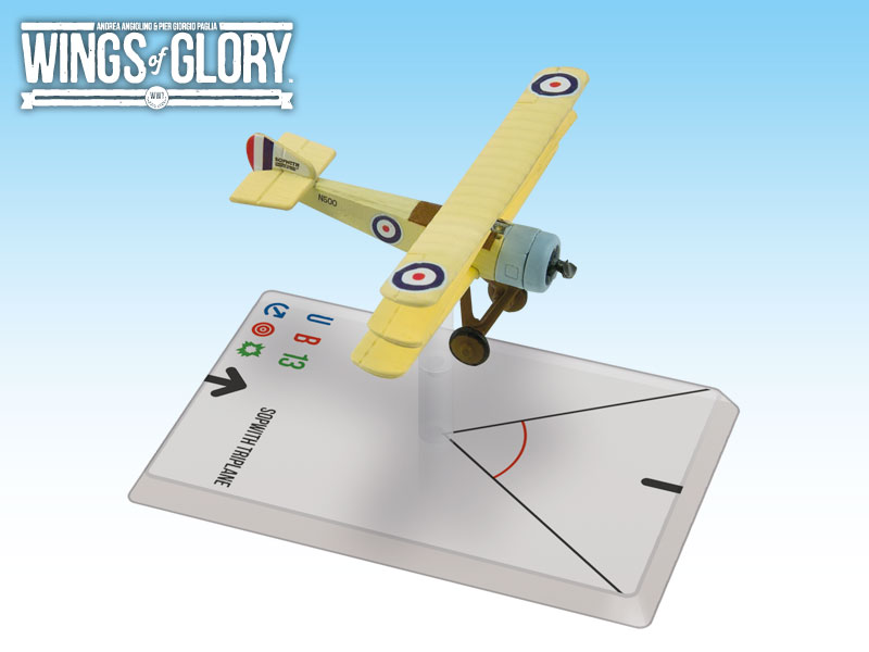Wings of Glory WWI : Sopwith Triplane (Dallas) by Ares Games Srl