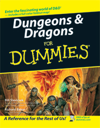 Dungeons & Dragons for Dummies by TSR Inc.