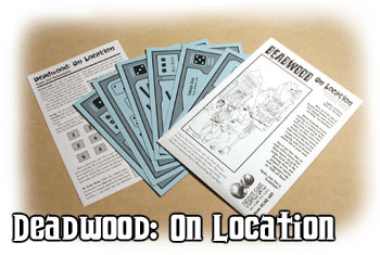 Deadwood: On Location (Deadwood Expansion) by Cheapass Games