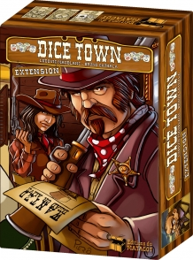 Dice Town Expansion by Asmodee Editions