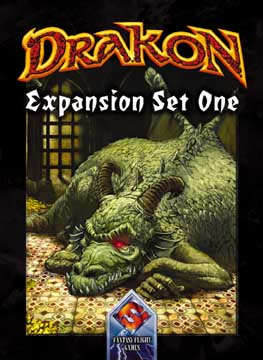 Drakon Expansion 1 by Fantasy Flight