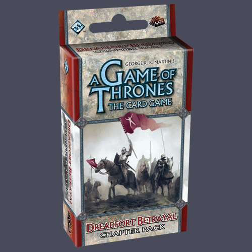 A Game Of Thrones Lcg: Dreadfort Betrayal Chapter Pack by Fantasy Flight Games