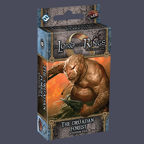 The Lord of the Rings LCG: The Druadan Forest Adventure Pack by Fantasy Flight Games