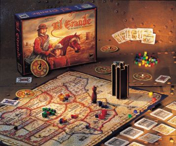 El Grande - Decennial (10 year) Edition (Expansions Included) by Rio Grande Games