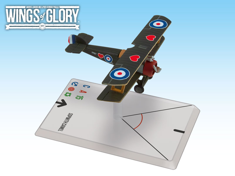 Wings of Glory: WWI: Sopwith Camel (Elwood) by Ares Games