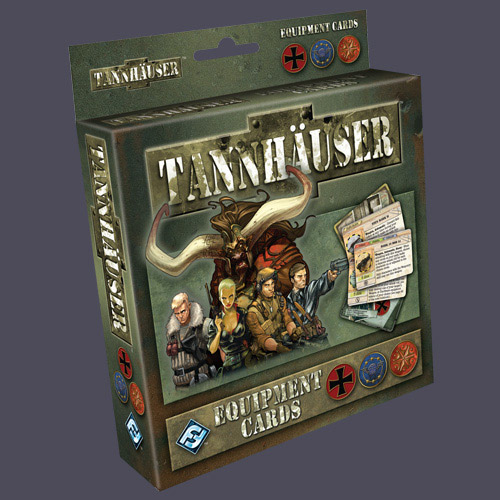 Tannhauser Equipment Cards by Fantasy Flight Games