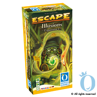 Escape: Illusions Expansion by Queen Games