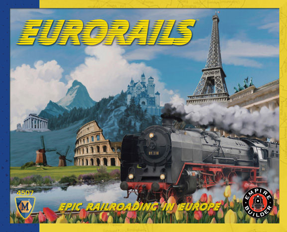 Eurorails (4th Edition) by Mayfair Games