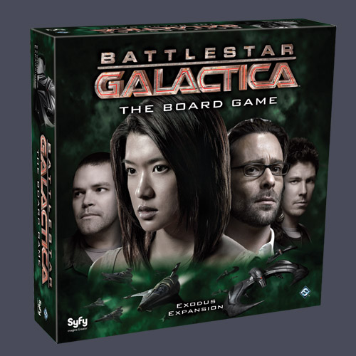 Battlestar Galactica: The Board Game - Exodus Expansion by Fantasy Flight Games