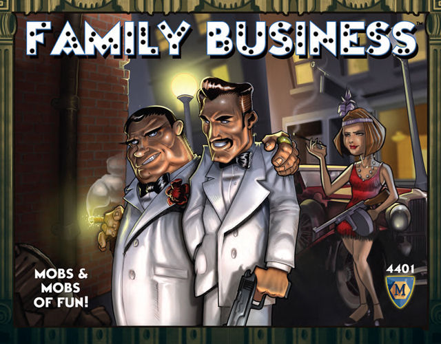 Family Business (2008 edition) by Mayfair Games