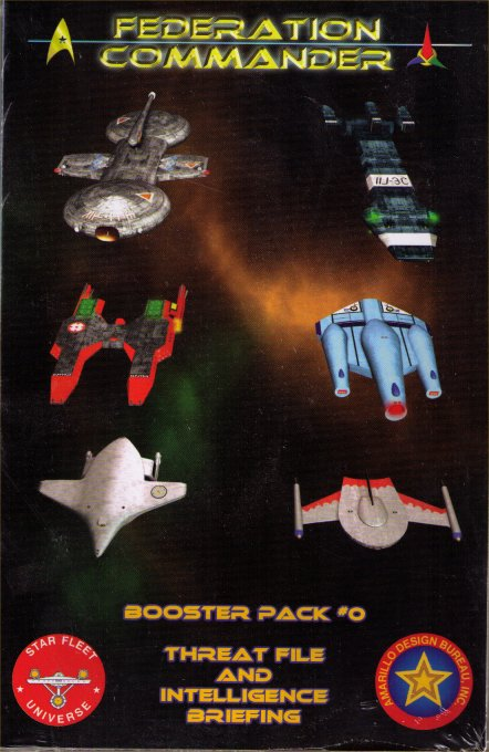 Federation Commander Booster Pack #0 (Zero) - Threat File and Intelligence Briefing by Amarillo Design Bureau, Inc.
