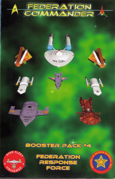 Federation Commander Booster Pack #4 - Federation Response Force by Amarillo Design Bureau, Inc.
