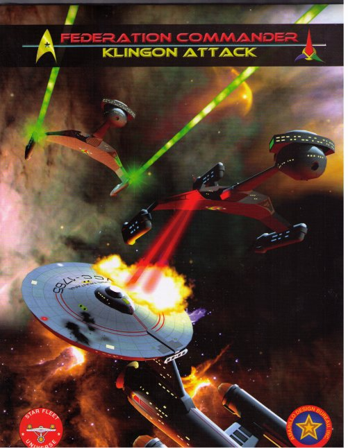 Federation Commander: Klingon Attack by Amarillo Design Bureau, Inc.