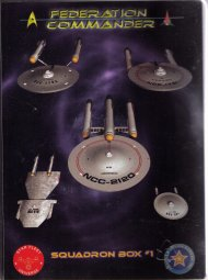 Federation Commander Squadron Box 1 by Amarillo Design Bureau, Inc.