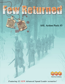 Advanced Squad Leader (ASL) expansion : Action Pack 3 - Few Returned by Multi-Man Publishing