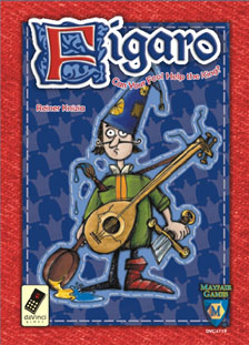 Reiner Knizia's Figaro by Mayfair Games / DaVinci Games
