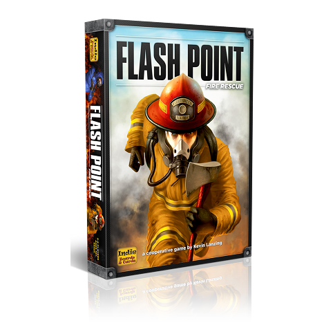 Flash Point: Fire Rescue 2nd Edition by Indie Boards & Cards
