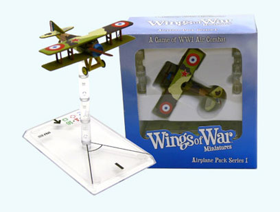Wings Of War miniatures : Spad XIII Rene Paul Fonck (France) by Fantasy Flight Games