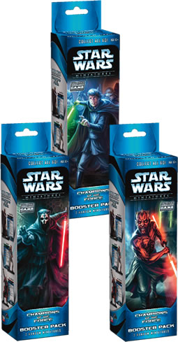 Star Wars Cmg: Champions Of The Force Booster Pack by TSR Inc.