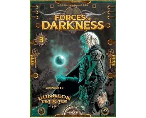 Dungeon Twister : Forces of Darkness expansion by Asmodee Editions