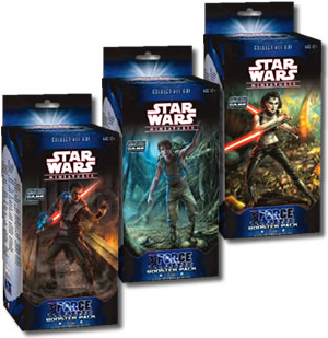 Star Wars CMG Force Unleashed Booster Pack by Wizards of the Coast