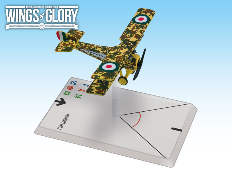 Wings of Glory WWI : Hanriot HD.1 (Fucini) by Ares Games Srl