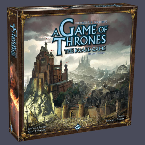 A Game Of Thrones: The Board Game (Second Edition) by Fantasy Flight Games